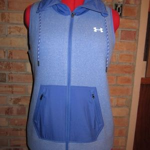 NEW UNDER ARMOUR VEST WOMENS M COLD GEAR  LOOSE